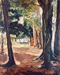 les arbres près de la côte de grace (39) by achille emile othon friesz