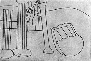 palaestra (from architectural suite) by ben nicholson