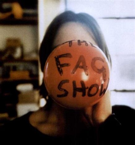 the fag show by sarah lucas