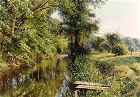 <i>reflections of spring</i> by peder mork mönsted