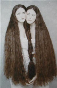 twins, heather, and erin by joyce tenneson