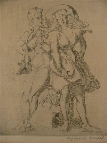 league print by reginald marsh