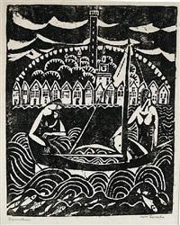 sailing (provincetown) by william zorach