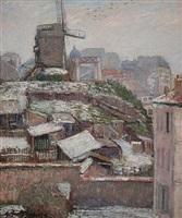 la moulin de la galette by georges manzana-pissarro