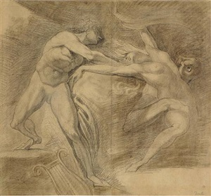 orpheus and euridice by henry fuseli