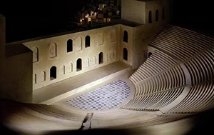 theater (after the acropolis) by james casebere