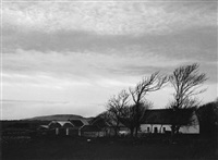 house and sky, ireland by paul caponigro