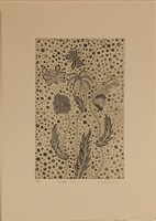 flowers and butterflies by yayoi kusama