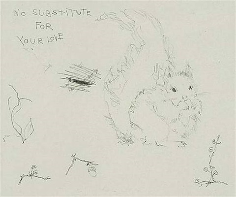 no substitute for your love by tracey emin