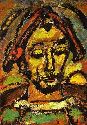 arlequin by georges rouault