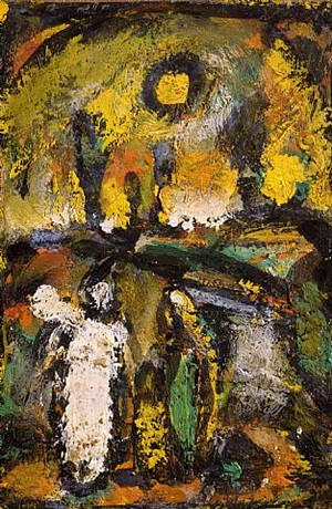 biblical landscape by georges rouault