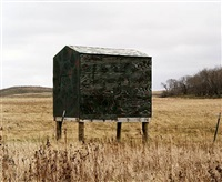 hunting blind, near lincold valley, nd by brian lesteberg