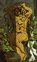 nude by georges braque