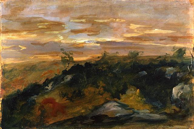 landscape by eugène delacroix