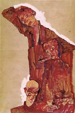 self portrait(s) by egon schiele
