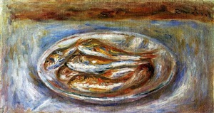 fishes by pierre-auguste renoir
