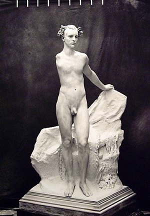 portrait of greg vaughn by joel-peter witkin