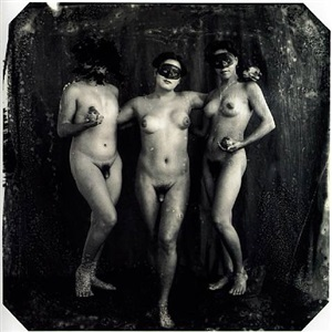 the graces, los angeles by joel-peter witkin
