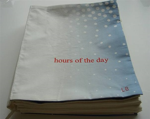 hours of the day (book cover) by louise bourgeois