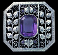 jugendstil brooch by theodor fahrner (co.)
