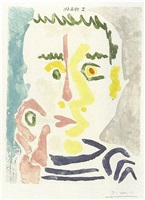 fumeur by pablo picasso