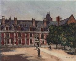 chateau de blois by maurice utrillo