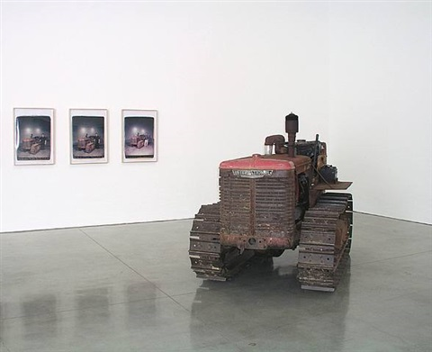 bulldozer by chris burden