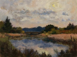 end of day, lieutenant river (sold) by barbara maiser