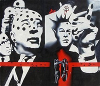 political disease by mark kostabi