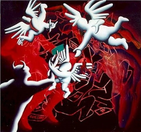 simply irresistible by mark kostabi