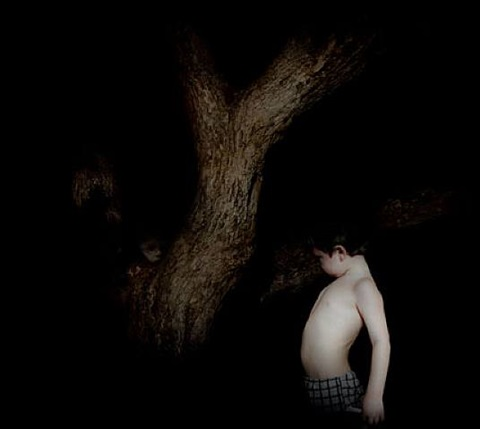 boy without shirt by julia peirone