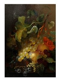 still life with fruit by jan van der waarden
