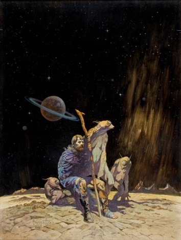 tomorrow midnight paperback cover by frank frazetta