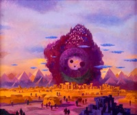 best sf 73, paperback cover by paul lehr