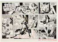 star wars, sunday comic strip, (la times syndicate), december 2 by russ manning