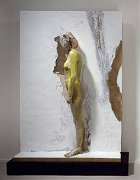 mujer pegada 4 by manuel neri
