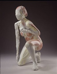untitled (kneeling figure) by manuel neri