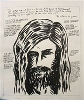 untitled (to gaze up at him...) by raymond pettibon