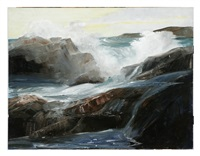 crashing waves by kostantine weschiloff alexandrovich