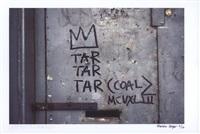basquiat-samo- (4 works: basquiat tar tar tar, asbestos, salt & petrol) by martha cooper