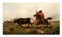 chasing longhorns by john n. hess