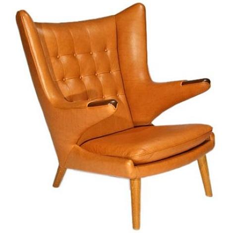papa bear chair by hans j. wegner