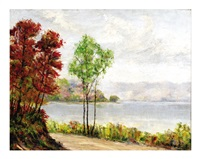 lakeside view by ira mcdade