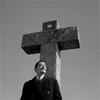 de la serie dalí al turó de les tres creus by francesc català-roca