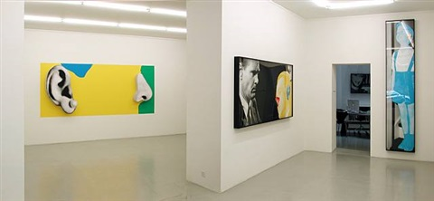 installation view by john baldessari