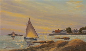 madison evening sail (sold) by yves parent