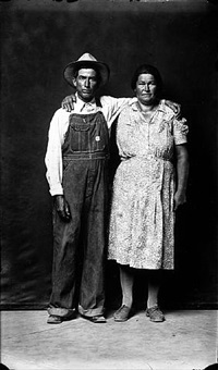 ed and mamie barger, from the heber springs portraits by mike disfarmer