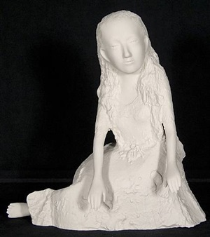 alice ii (feet uncrossed) by kiki smith