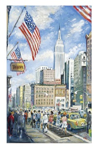 empire state building by philip a. corley
