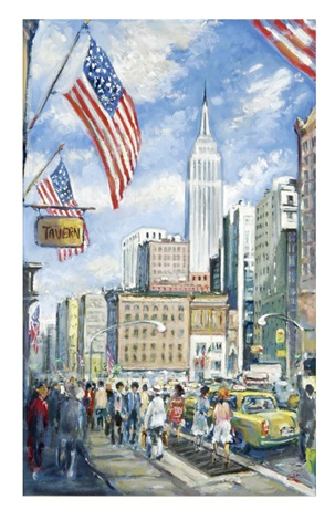 empire state building by philip a corley